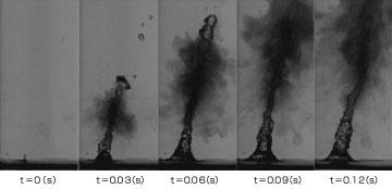 超音波による霧化分離