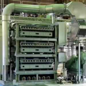 廃水処理用の大規模装置の例